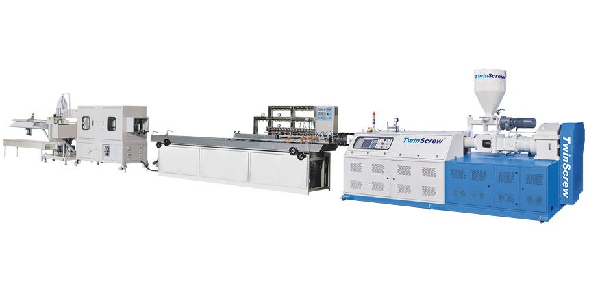 Complete Production Line For Profile Extrusion